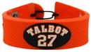 Philadelphia Flyers Bracelet Team Color Jersey Maxime Talbot Design