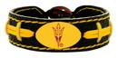 Arizona State Sun Devils Pitchfork Logo Team Color Football Bracelet