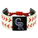 Colorado Rockies Bracelet Classic Two Seamer