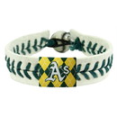 Seattle Mariners Bracelet Genuine Baseball Argyle