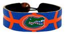 Florida Gators Team Color Basketball Bracelet
