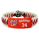 Washington Nationals Bracelet Classic Baseball Bryce Harper