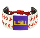LSU Tigers Bracelet Classic Two Seamer Baseball