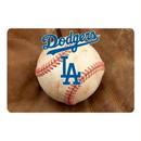 Los Angeles Dodgers Pet Bowl Mat Classic Baseball Size Large