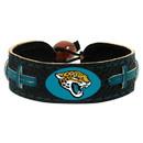 Jacksonville Jaguars Team Color Football Bracelet