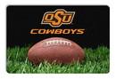 Oklahoma State Cowboys Classic Football Pet Bowl Mat - L