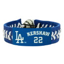 Los Angeles Dodgers Bracelet Team Color Baseball Clayton Kershaw