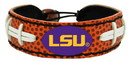 LSU Tigers Classic Football Bracelet