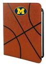 Michigan Wolverines Classic Basketball Portfolio - 8.5 in x 11 in