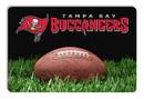 Tampa Bay Buccaneers Classic NFL Football Pet Bowl Mat - L