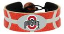 Ohio State Buckeyes Team Color Basketball Bracelet