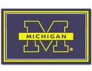 Michigan Wolverines Area rug - 4'x6'