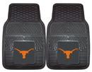 Texas Longhorns Heavy Duty 2-Piece Vinyl Car Mats