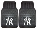 New York Yankees Heavy Duty 2-Piece Vinyl Car Mats