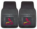 St. Louis Cardinals Heavy Duty 2-Piece Vinyl Car Mats