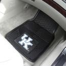 Kentucky Wildcats Heavy Duty 2-Piece Vinyl Car Mats