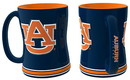 Auburn Tigers Coffee Mug - 14oz Sculpted Relief