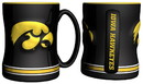 Iowa Hawkeyes Coffee Mug - 14oz Sculpted Relief
