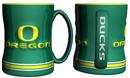 Oregon Ducks Coffee Mug - 14oz Sculpted Relief