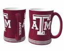 Texas A&M Aggies Coffee Mug - 14oz Sculpted Relief