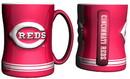 Cincinnati Reds Coffee Mug - 14oz Sculpted Relief