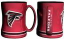 Atlanta Falcons Coffee Mug - 14oz Sculpted Relief