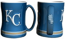 Kansas City Royals Coffee Mug - 14oz Sculpted Relief