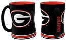 Georgia Bulldogs Coffee Mug - 14oz Sculpted Relief