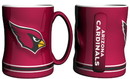 Arizona Cardinals Coffee Mug - 14oz Sculpted Relief