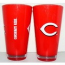 Cincinnati Reds 20 oz Insulated Plastic Pint Glass