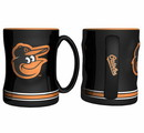 Baltimore Orioles Coffee Mug - 14oz Sculpted Relief
