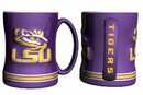LSU Tigers Coffee Mug - 14oz Sculpted Relief