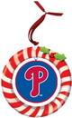 Philadelphia Phillies Ornament Clay Dough Wreath Design