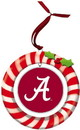 Alabama Crimson Tide Ornament Clay Dough Wreath Design