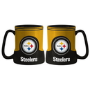 Pittsburgh Steelers Coffee Mug - 18oz Game Time (New Handle)