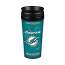 Miami Dolphins 14oz. Full Wrap Travel Mug