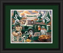 Michigan State Spartans Tailgate Print 15