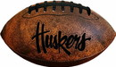 Nebraska Cornhuskers Football - Vintage Throwback - 9 Inches