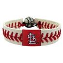 St. Louis Cardinals Baseball Bracelet - Classic Style