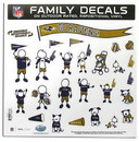 Baltimore Ravens Decal 11x11 Family Sheet