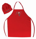 Tampa Bay Buccaneers Apron and Chef Hat Set