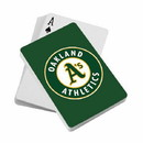 Oakland Athletics Playing Cards Diamond Plate Special Order