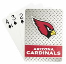 Arizona Cardinals Playing Cards Diamond Plate Special Order