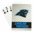 Carolina Panthers Playing Cards Diamond Plate Special Order