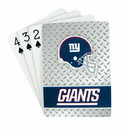 New York Giants Playing Cards - Diamond Plate