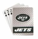 New York Jets Playing Cards - Diamond Plate