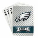 Philadelphia Eagles Playing Cards - Diamond Plate
