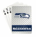 Seattle Seahawks Playing Cards - Diamond Plate