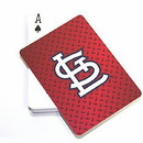 St. Louis Cardinals Playing Cards StL Logo