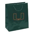Miami Hurricanes Gift Bag - Elegant Foil